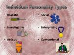 individual personality types1