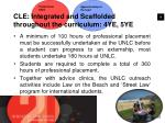 cle integrated and scaffolded throughout the curriculum 4ye 5ye1