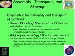 assembly transport and storage2