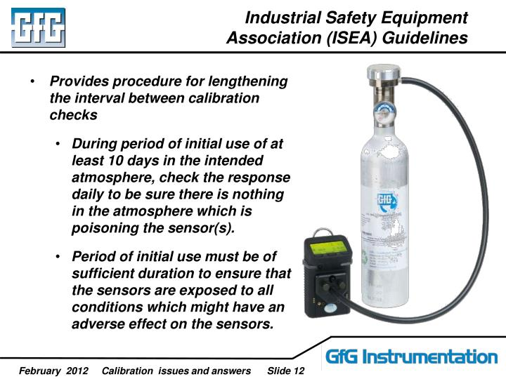 Industrial Safety Equipment Association (ISEA) Guidelines