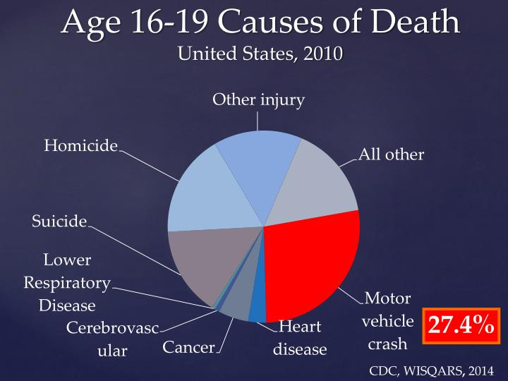 Age 16-19 Causes of Death