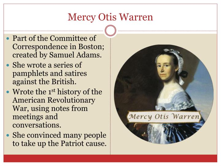 Mercy Otis Warren