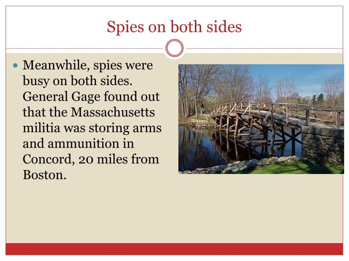 Spies on both sides
