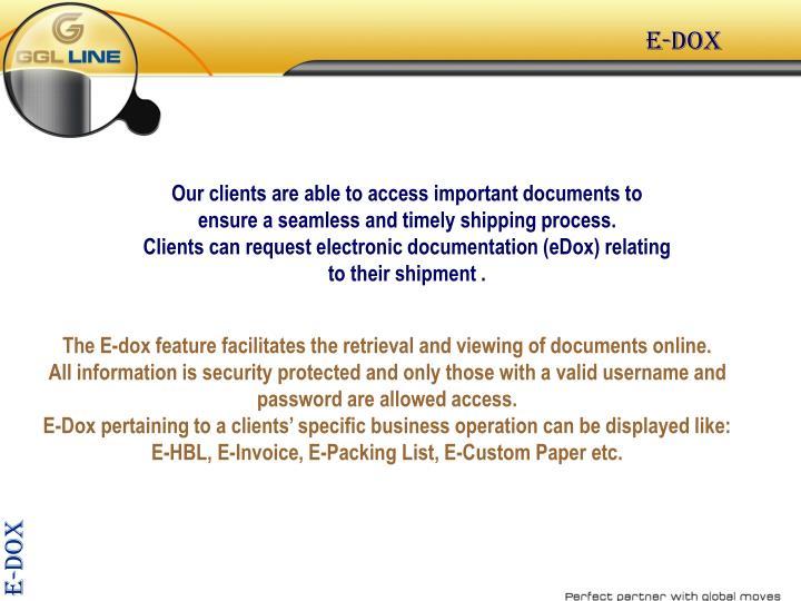 E-dox