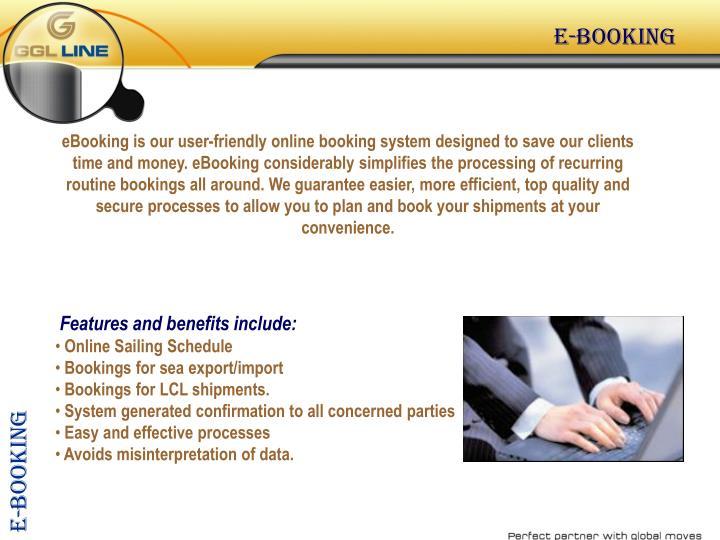 E-booking