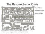 the resurrection of osiris