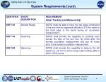 system requirements cont2
