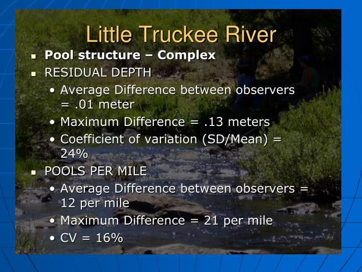 Little Truckee River
