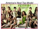 america s next top model