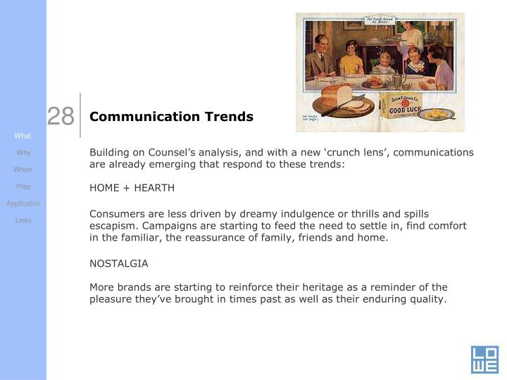 Communication Trends