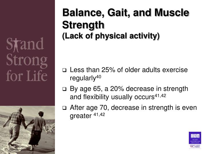 Balance, Gait, and Muscle Strength
