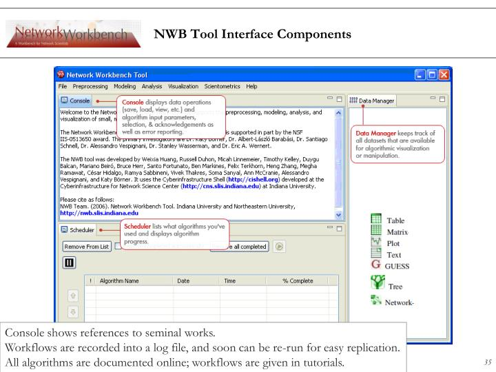 NWB Tool Interface Components
