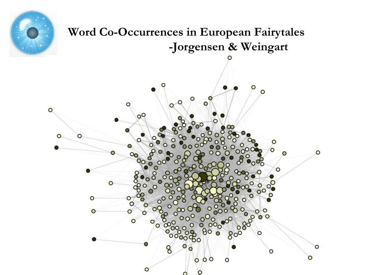 Word Co-Occurrences in European Fairytales