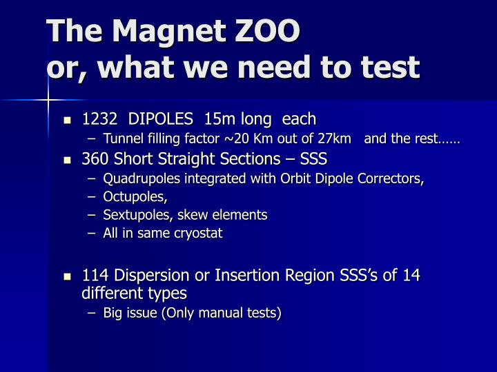 The Magnet ZOO