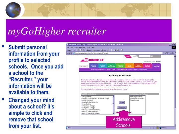 myGoHigher recruiter