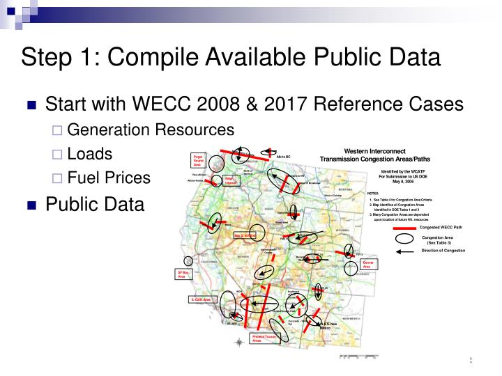 Start with WECC 2008 & 2017 Reference Cases