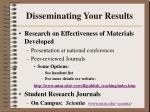disseminating your results2