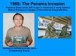 1989 the panama invasion