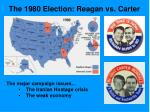 the 1980 election reagan vs carter