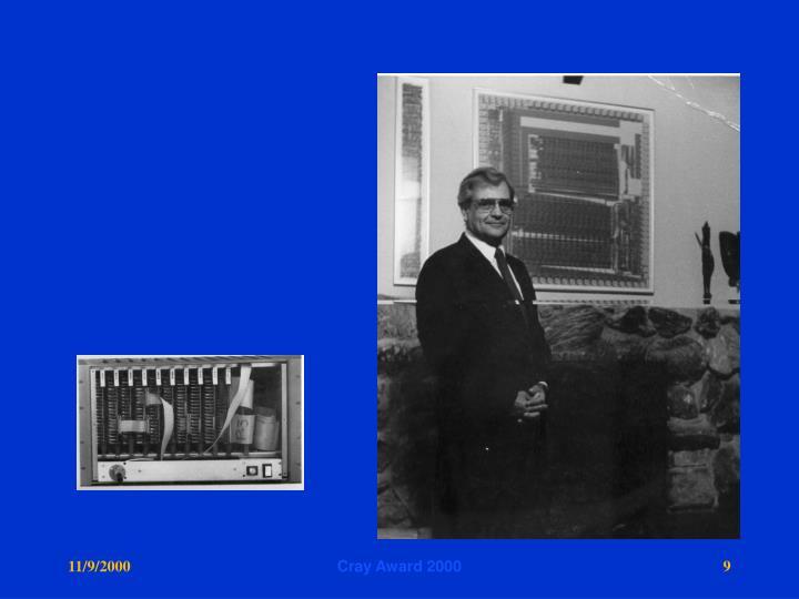Cray Award 2000