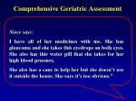comprehensive geriatric assessment7