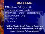 malayaja