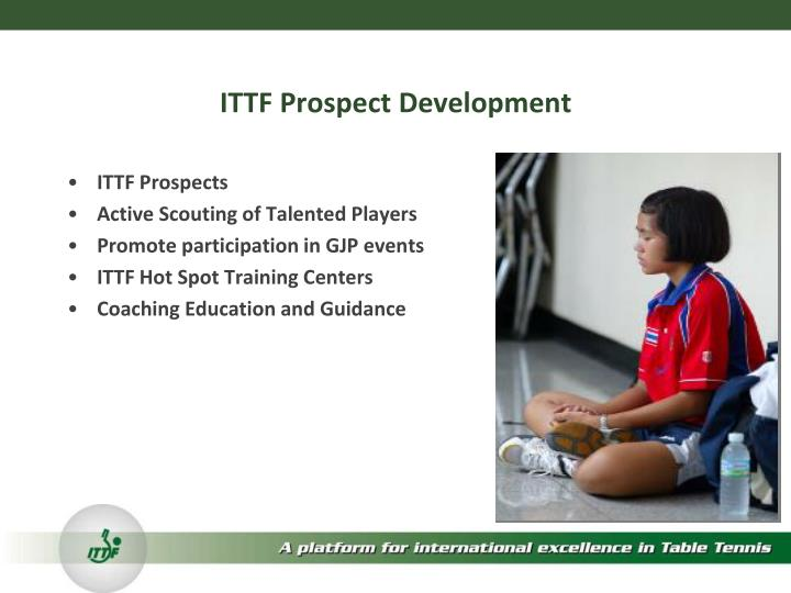 ITTF Prospect Development