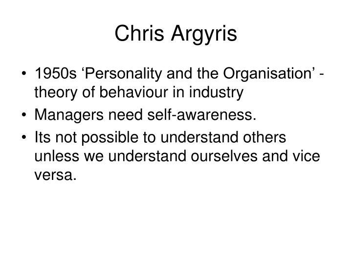 Chris Argyris