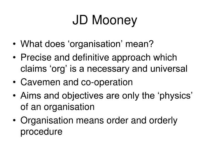 JD Mooney