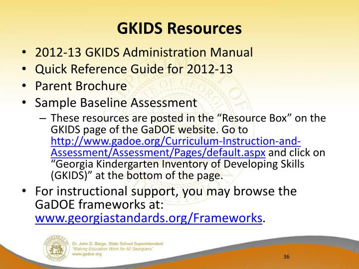 GKIDS Resources