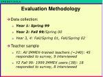 evaluation methodology2