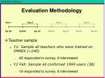 evaluation methodology3