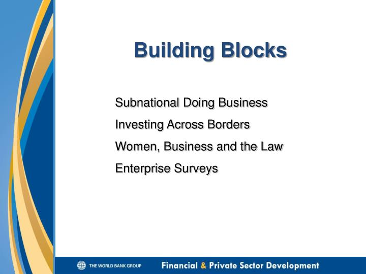 Subnational Doing Business