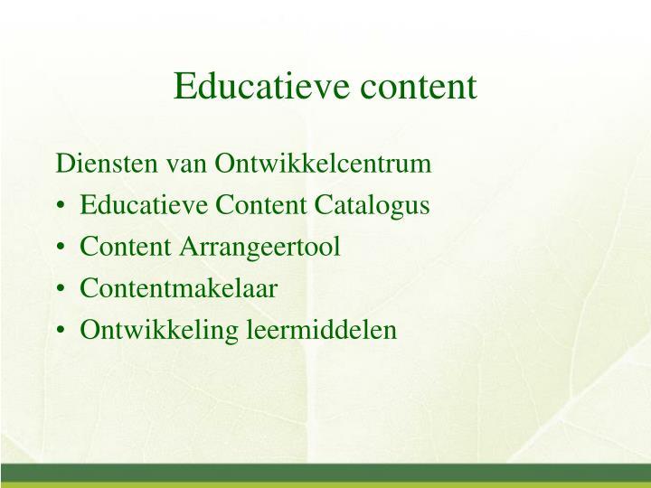 Educatieve content