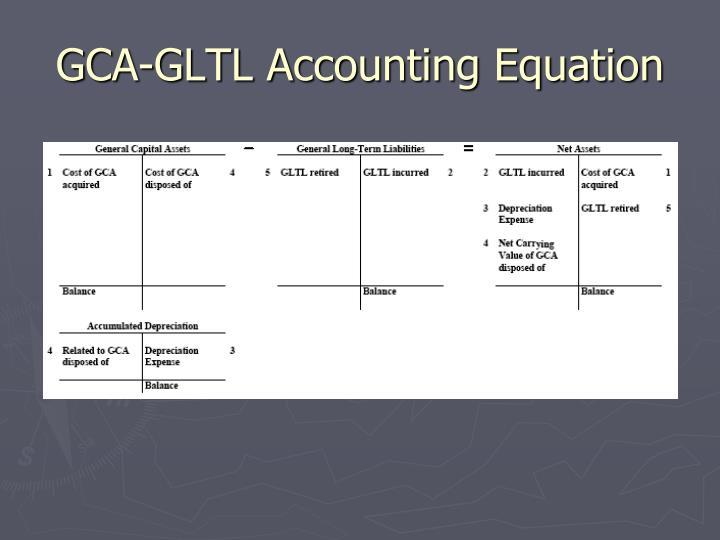 GCA-GLTL Accounting Equation
