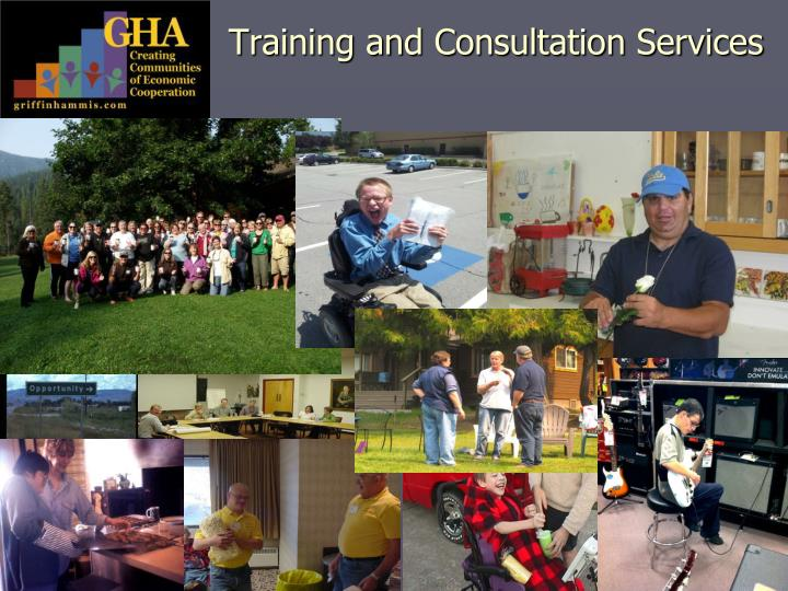 Training and consultation services