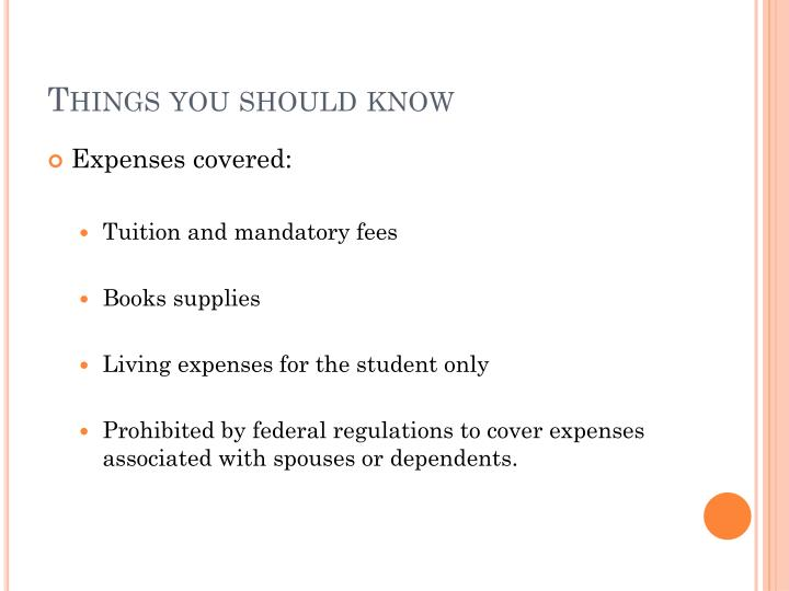 Things you should know1