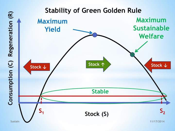 Stability of Green Golden Rule
