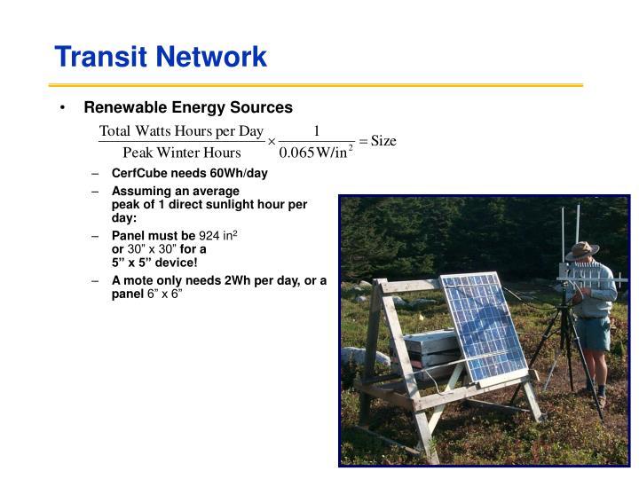 Transit Network