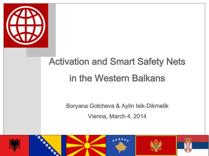 Activation and Smart Safety Nets
