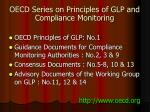 oecd series on principles of glp and compliance monitoring