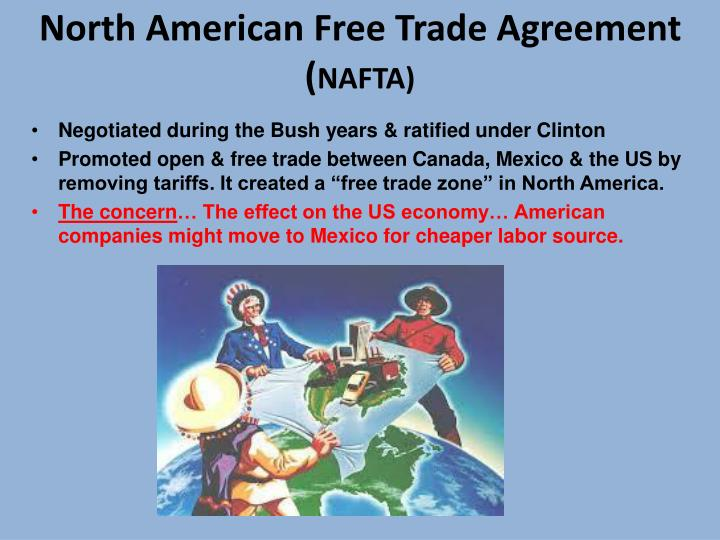 an evaluation of the impact of the north american free trade agreement nafta Ex-ante versus ex-post assessments of the  impact assessments of free-trade  scrutinizing the example of the north american free trade agreement (nafta.