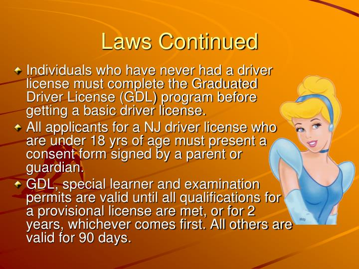 Laws Continued