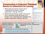 constructing a collective thinkpad bansho as assessment for learning1