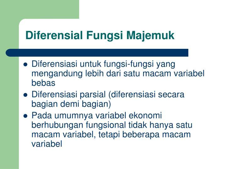 Diferensial fungsi majemuk1