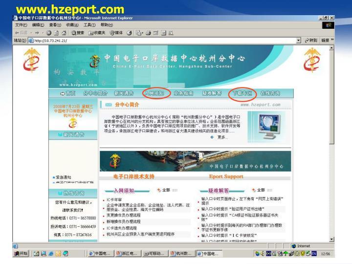 www.hzeport.com