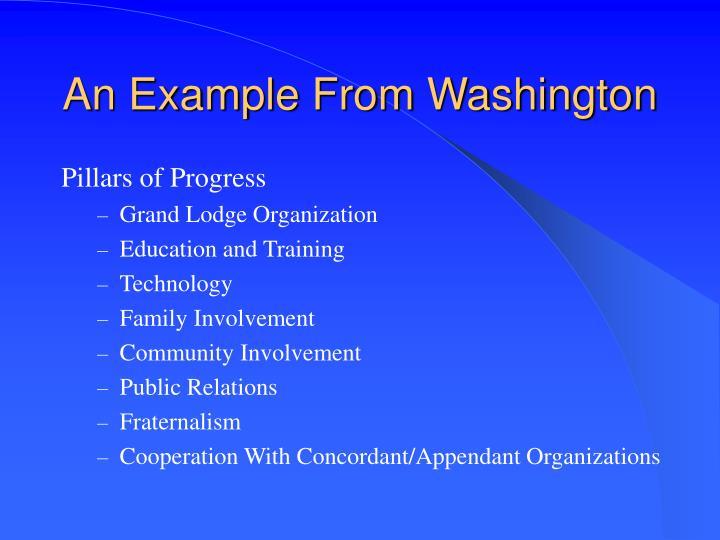 An Example From Washington
