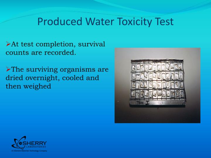 Produced Water Toxicity Test