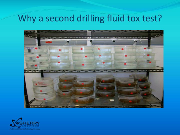 Why a second drilling fluid