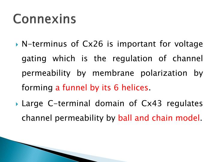 Connexins